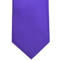 Iris Satin Tie with Matching Pocket Square