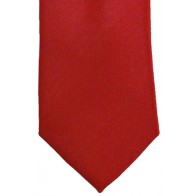 Red Satin Tie #T1888/3