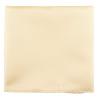 Ivory Twill Pocket Square #TPH100/3