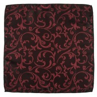 Swirl Leaf Pocket Square Gents Pocket Hankie