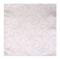 Lilac Modern Scroll Wedding Pocket Square #AB-TPH1002/1