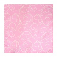 Light Pink Modern Scroll Wedding Pocket Square #AB-TPH1002/3