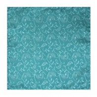 Teal Budding Paisley Wedding Pocket Square #AB-TPH1003/3