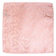 Peach Vintage Vine Wedding Pocket Square #AB-TPH1004/3