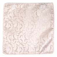 Ivory Bridal Blush Vintage Vine Wedding Pocket Square #AB-TPH1004/7