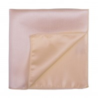 Peach Dust Shantung Pocket Square #AB-TPH1005/12