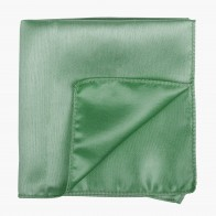 Green Ash Shantung Pocket Square #AB-TPH1005/15