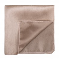 Antique Champagne Shantung Pocket Square #AB-TPH1005/1