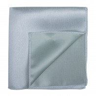 Silver Birch Shantung Pocket Square #AB-TPH1005/3