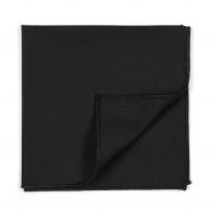 Black 100% Wool Tuxedo Pocket Square #AB-TPH1011/1
