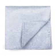 Glacier Grey Floral Pocket Square #AB-TPH1012/1