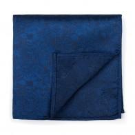 Twilight Blue Floral Pocket Square #AB-TPH1012/9