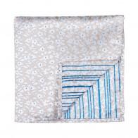 Beige Ditsy Floral Pocket Square #AB-TPH1013/2