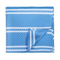Baby Blue Pastel Stripe Pocket Square #AB-TPH1016/1