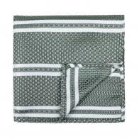 Green Pastel Stripe Pocket Square #AB-TPH1016/2