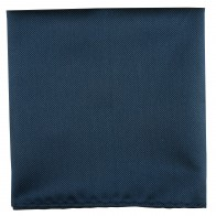 Midnight Blue Twill Pocket Square #TPH102/2