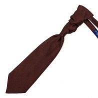 Chocolate Brown Shantung Cravat #AB-WCR1005/19