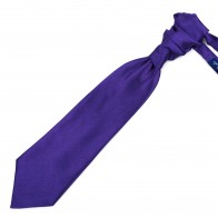 Plum Purple Shantung Cravat #AB-WCR1005/8