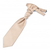 Satin Wedding Cravat Gents Formal Cravat