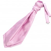 Dusky Pink Satin Wedding Cravat (Boys Size) #YCR101/2