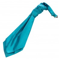 Turquoise Twill Wedding Cravat #WCR101/5