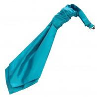 Turquoise Twill Wedding Cravat #WCR101/5