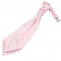 Pink Satin Wedding Cravat #WCR1849/4