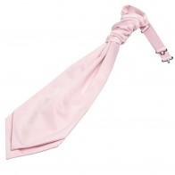 Pink Satin Wedding Cravat #WCR1849/4