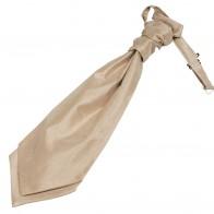 Champagne Shantung Wedding Wedding Cravat (Boys Size) #YCR1866/5