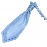 Sky Blue Shantung Wedding Wedding Cravat #WCR1866/6