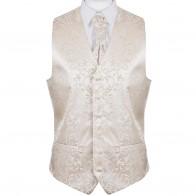 Swirl Leaf Wedding Waistcoat / Formal Tuxedo Waistcoat