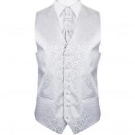 Royal Swirl Wedding Waistcoat / Formal Tuxedo Waistcoat