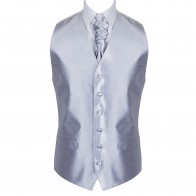 Mid Silver Morning Suit Waistcoat #AB-WWB1005/6