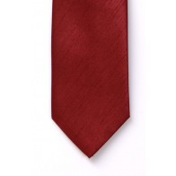 Boys Red Shantung Wedding Tie #Y1865/3