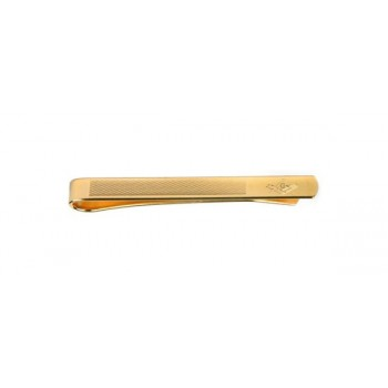 Gold Masonic Gold Plated Tie Clip #100-9118