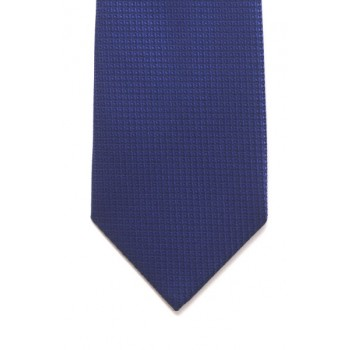 Blue Diamond Weave Tie #T1838/3 ---DISCONTINUED, LAST STOCK!---