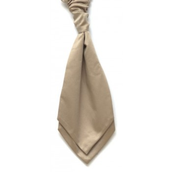 Beige Satin Wedding Cravat #WCR1848/4