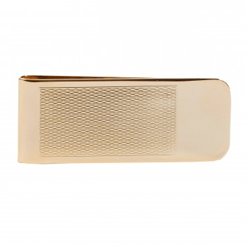 Gold Barley Pattern Money Clip