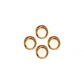 Mother of Pearl Gold Plated Shirt Studs (Set of 4)
