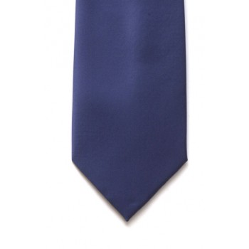 Airforce Blue Satin Tie #T1863/5