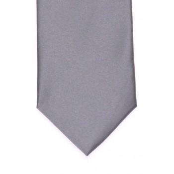 Grey Satin Tie #T1848/3