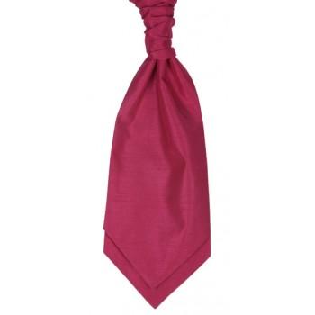 Fuchsia Shantung Wedding Wedding Cravat #WCR1867/3