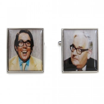 Silver 2 Ronnies Cufflinks #90-1566