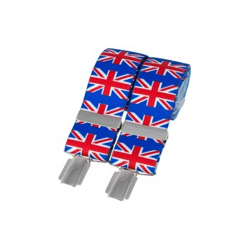 Multi Colour Union Jack Braces #BR-021