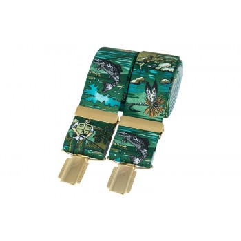 Green Angling Braces #BR-024