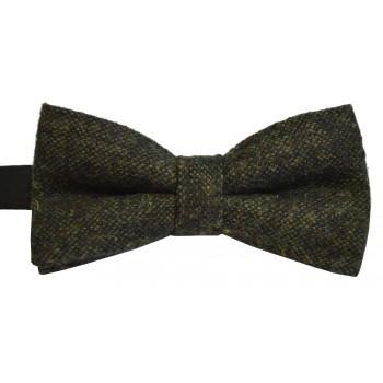 Green Flecked Tweed Bow Tie #BWW106/2