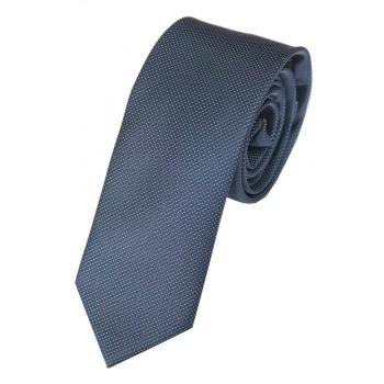 Navy Blue White Mini Dot Slim Tie #C193/2