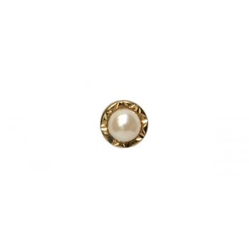 Gold Cultured Pearl 9ct Gold Tie Tac #CT-0013