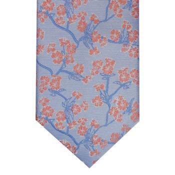 Blue Budding Branch Tie #F1598/3
