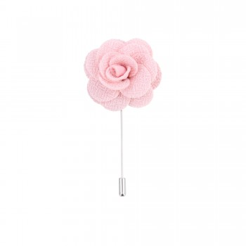 Pink Flower Lapel Pin #L-06